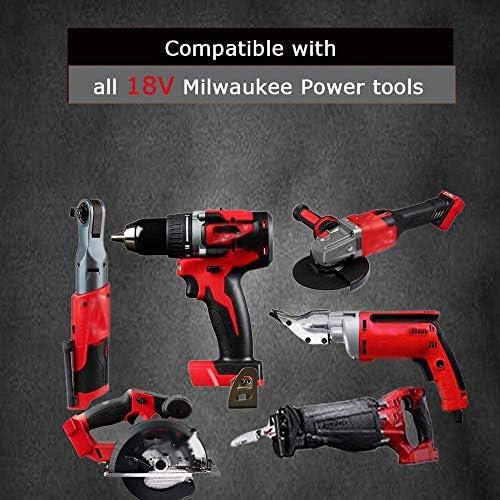 Milwaukee M18 Volt Cordless Drill 2603-20 2604-20 /& Charger Operators Manual Set
