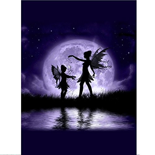 Adarl DIY 5D Full Diamond Painting by Number Kit, Moonlight for sale  Delivered anywhere in Canada
