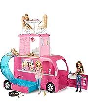 Clicca sull'immagine per la visualizzazione estesa Barbie- Camper con Dettagli Realistici, CJT42