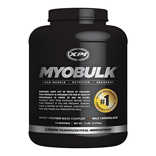 MyoBulk Chocolate 5LBS Weight Gainer product image