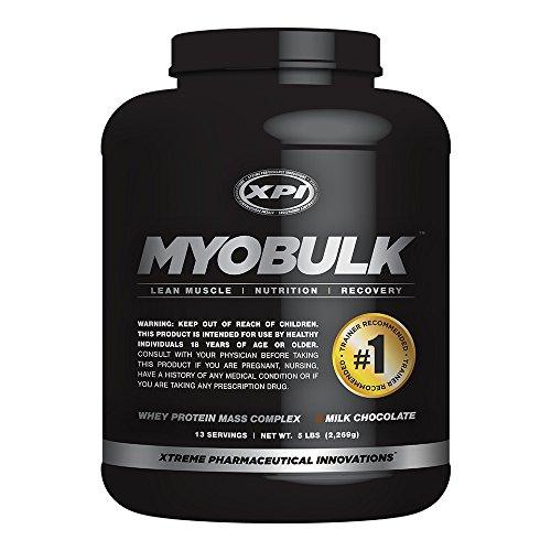 MyoBulk (Chocolate) 5 LBS, peso Gainer - ganar libras de Lean, músculos bien definidos - mejor proteína en polvo