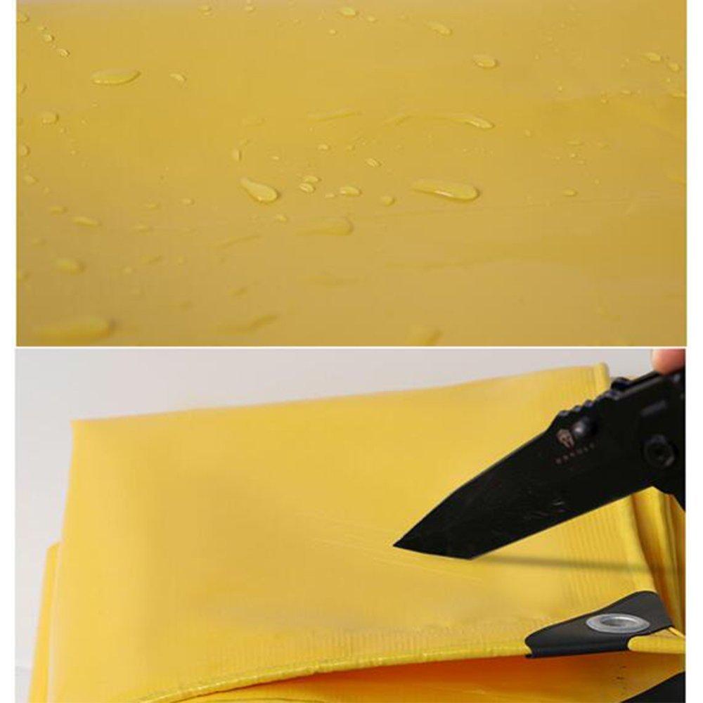 ATR Zelt Tarps Plane wasserdichtes Heavy Duty -gelbe Plane Blatt Blatt Blatt -Premium Qualität Abdeckplane 0,05 mm -500g   m \u0026 sup2; 22 Größen für den Außenbereich B07Q83Z5S7 Zeltplanen Abgabepreis bc38ac