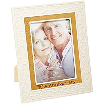 Amazon.com - Lenox Portrait Gallery 50th Anniversary Luxury Frame, 5 ...