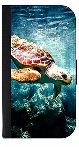 Under Sea Turtle - Galaxy s3/s4/s5/s6/s6 Edge/s7/s7 Edge/s8/s8+ Wallet Style Phone Case - Select Your Compatible Phone Model