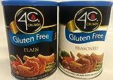 4c Gluten Free Crumb Bundle 1 Plain & 1 Seasoned 12 Ounce