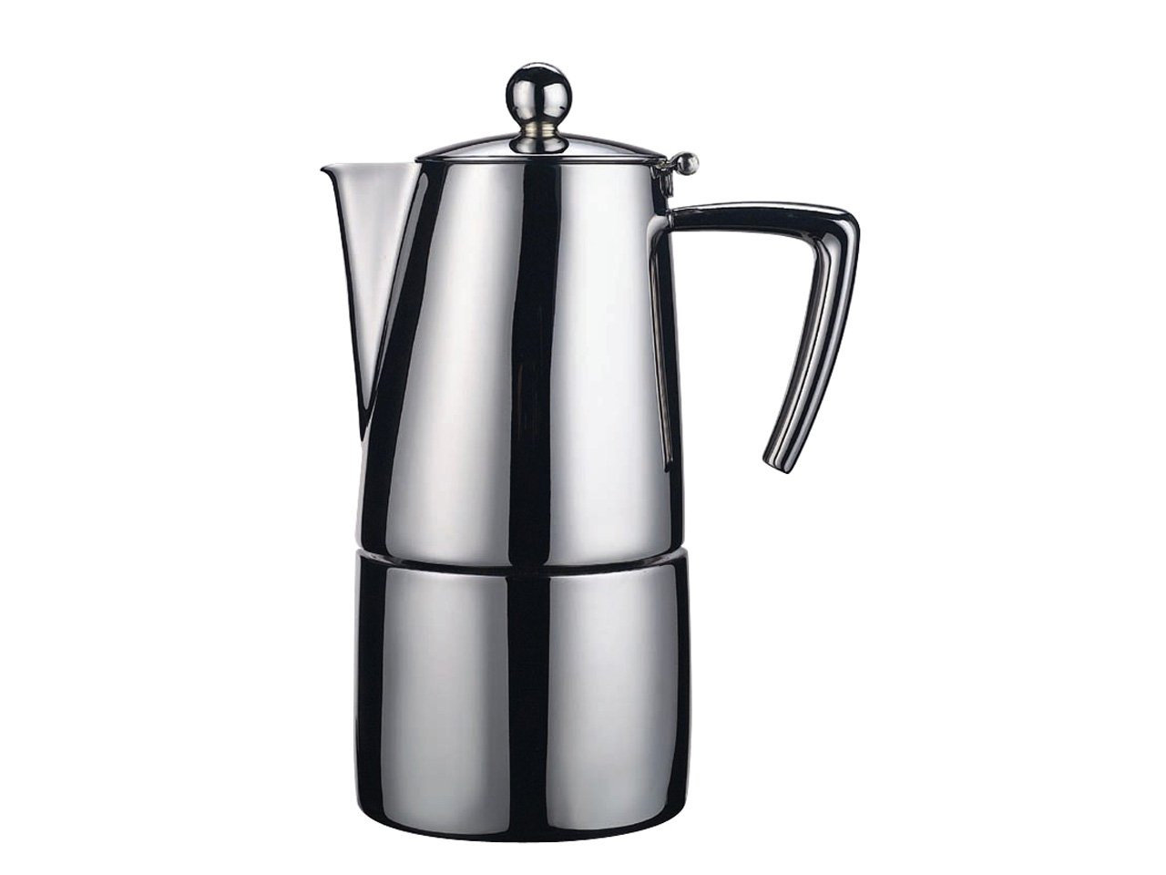 Ilsa Espresso Satin 6 Cup Coffee Pot LISB0 Art.91 0091S060IE