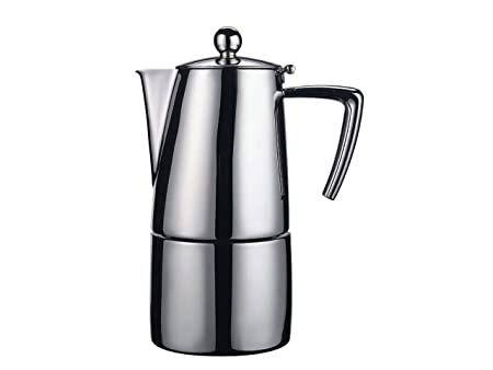 Ilsa - Cafetera para café expreso, satinada, con capacidad para 2 ...