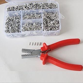 Unique Mixed 5000 Piece Non Insulated Wire Ferrules Kit +0.25-2.5 ...