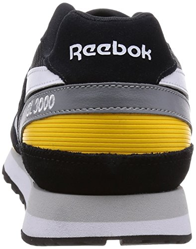 Reebok - Reebok GL 3000 Herren Sportschuhe Schwarz M49789 - Schwarz, 39