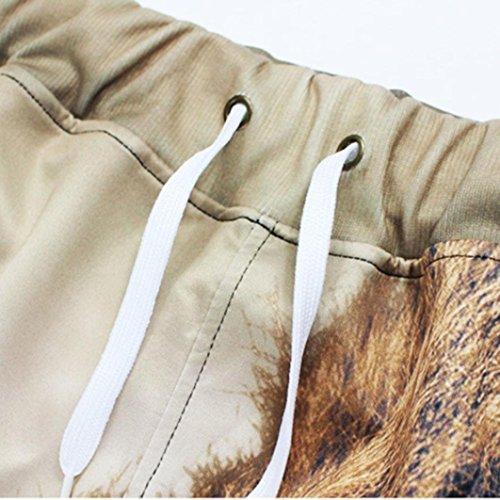 da Cachi Moda Piede Adeshop S 3d Chic Casual Pantaloni Slim Elasticità Allentato Stampa piccolo forti Pantaloni S uomo Taglie Sportwear 2xl tRwwqp