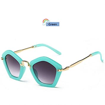 TYJYTM Hipster Remache Gafas de Sol para niños Gafas de ...