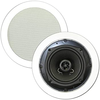 White Theater Solutions TS50C 5.25-Inch Kevlar In-Ceiling Speakers