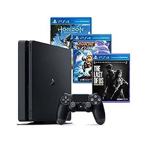 console ps4 500gb hits bundle 3 jogos controle dualshock. Black Bedroom Furniture Sets. Home Design Ideas