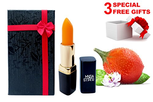 Very Special Present Costumes (MYSASTAR 100% Natural Moisturizing Lip Balm. Unique Formula With Gac Oil. Best Lip Plumper Chapstick for Dry Lips For Adults and Kids Lip Repair. Special Graduation Gifts. Presents For Women, Men.)
