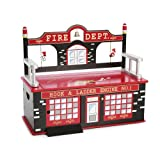 Levels of Discovery Firefighter Bench Seat w/Storage