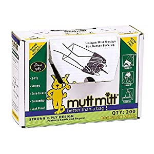 Mutt Mitt Dispense a Mitt Box- 200 Count – 2ply Bag
