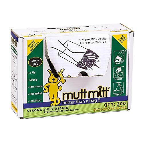 Flexi Mutt Mitt Dog Waste Pick Up Bag, 200-Count