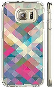 S6 case of TUTU158600 Custom made Case/Cover/skin case galaxy S6 cover - Color diamond fuzzy box