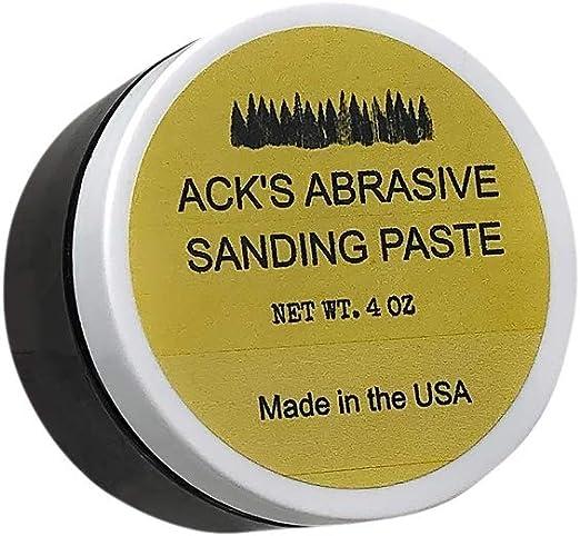 Ack S Abrasive Sanding Paste Schleifpaste Zum Drechseln 4 Oz 113g Baumarkt