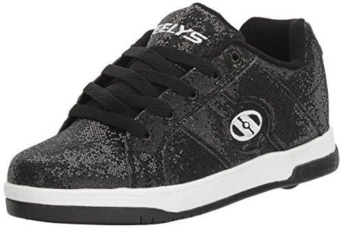 Disco Sneaker Black Glitter Kids Split Heelys CqIn8ESw8
