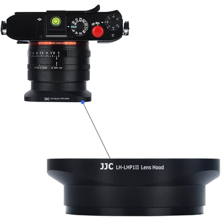 Square Lens Hood JJC Camera Lens Shade for Sony DSC-RX1 RX1R II /& Sony FE 28mm f//2 35mm F2.8 ZA E 16mm f//2.8 35mm f//1.8 OSS 55-210mm f//4.5-6.3 OSS Lens Replaces Sony LHP-1 Hood