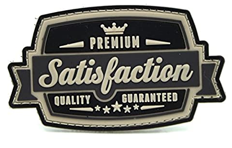 Premium Satisfaction Guaranteed Velcro PVC Patch - Swat or Black Color (Premium Pvc)