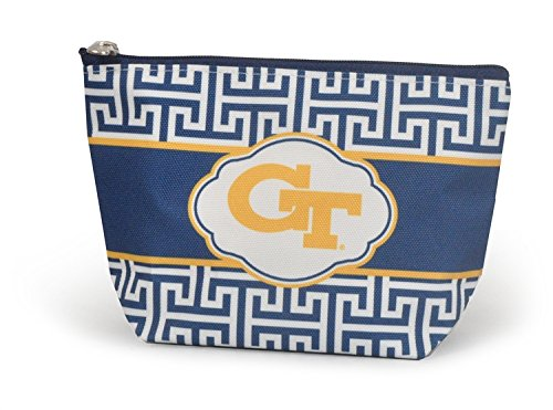 NCAA Georgia Tech Yellow Jackets Greek Key Pouch by NCAA (Image #1)