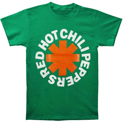 - Red Hot Chili Peppers Asterisk Irish Mens T-Shirt-large