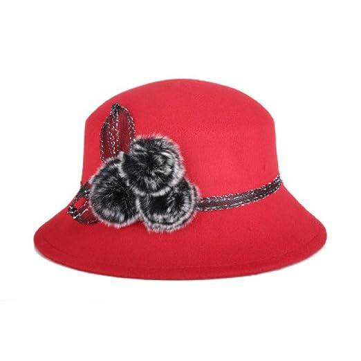 kyprx Sombreros de Paja de ala Sombreros de Paja Sombrero de Piel ...
