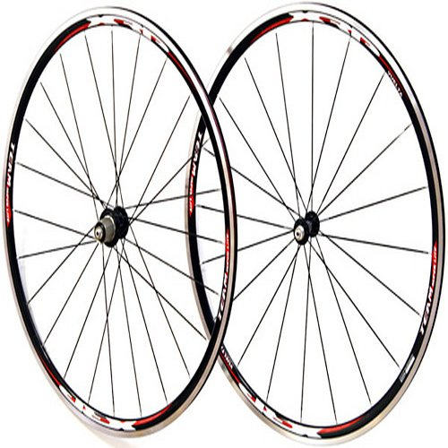 700c Vuelta XRP Team SL Black Road Bike Wheel Set 1533g!