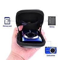 Waterproof Snug fit Camera Case for Canon PowerShot ELPH180 190 SX620 720 G9X Mark II,IXUS 285 180,Sony DSCW830 W810 HX80/B WX220 HX90,Nikon Coolpix A10 S7000 W100 by FOSOTO