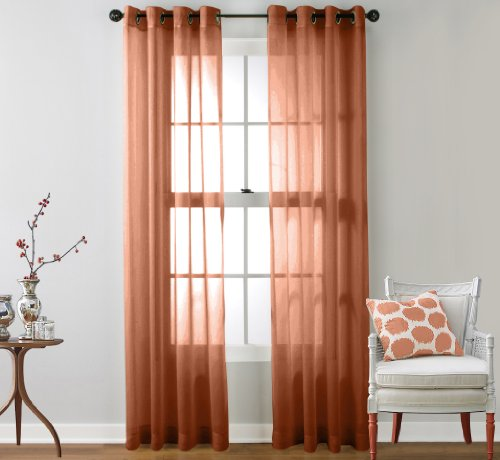 hlc me sheer window curtain