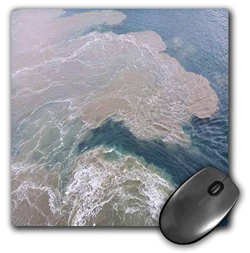 (3dRose Lens Art by Florene - Water Art - Image of Sandbar at Captiva Island Florida - Mousepad (mp_308274_1))