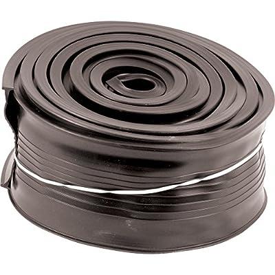 Prime-Line Products GD 12294 Metal Door Bottom Seal, 16-Feet, Black