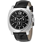 Michael Kors Men's Quartz Watch MK8118 MK8118 with Leather Strap