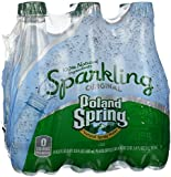 POLAND SPRING Brand Sparkling Natural Spring Water, 16.9-ounce plastic bottles (Pack of 6)