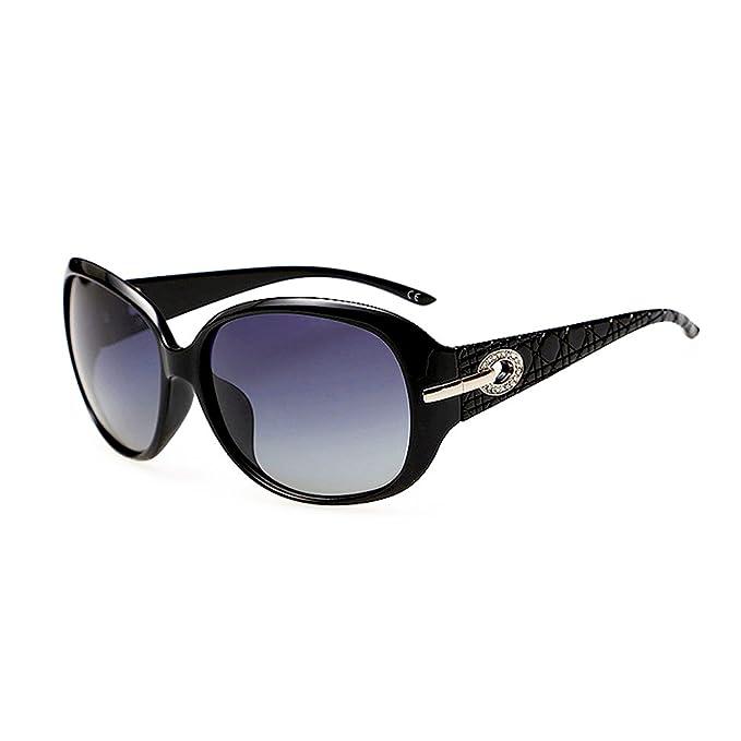 BLEVET Oversized Polarizadas Gafas de Sol para Mujeres Moda Protección UV BX014