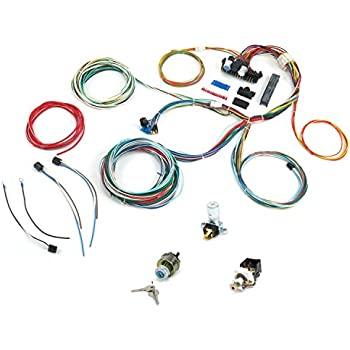 keep it clean 10566 wire harness system 1968-1969 chevy ii nova ss396 main wire  harness system