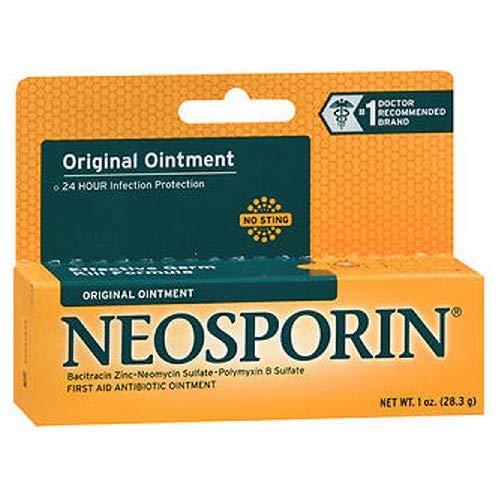 Neosporin Original First Aid Antibiotic Ointment 1 oz (Pack of 3) by Neosporin