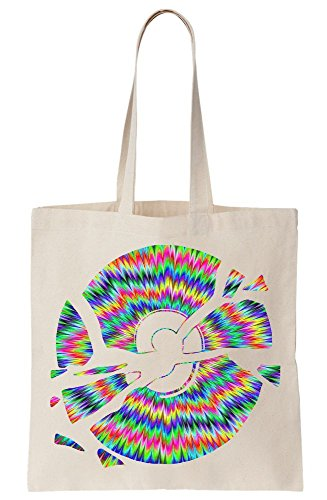 Tote Hurt Psychedelic Colorful Canvas Bag Broken My CD Eyes Colors Rainbow 7ffwqz
