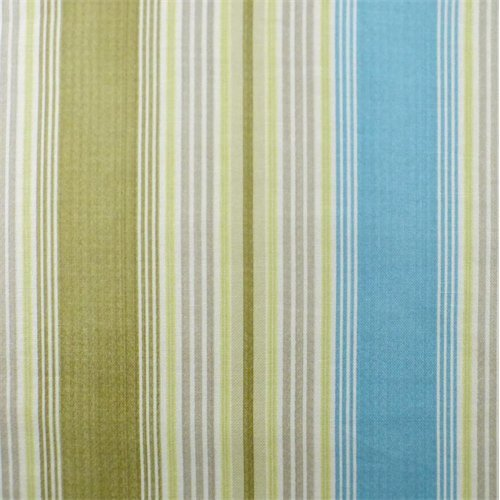 Blue/Green Waverly Stripe Home Decorating Fabric, Fabric by The Yard