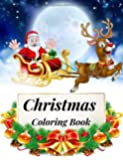 Christmas Coloring Book: Adult Christmas Coloring Book with Fun, Easy, Stress Relieving Designs Coloring Pages (Volume 2)