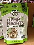 #1: Manitoba Harvest Organic Hemp Hearts Raw Shelled Hemp Seeds, 1Pack (24 OZ Each)