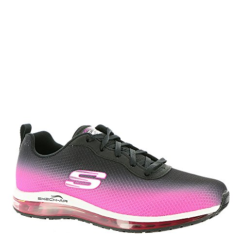 Skechers Damen Skech Air Element Fashion Sneaker Schwarz-Pink