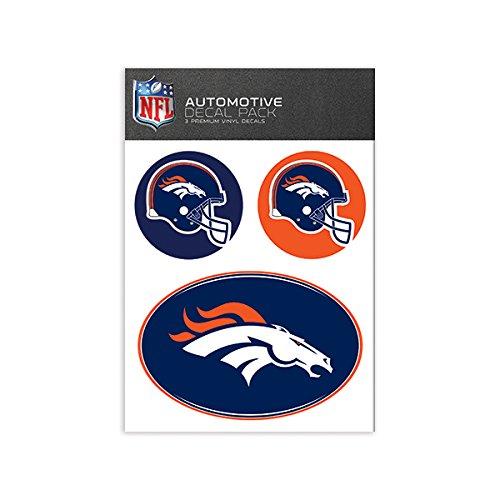 NFL Denver Broncos Medium Decal Pack -