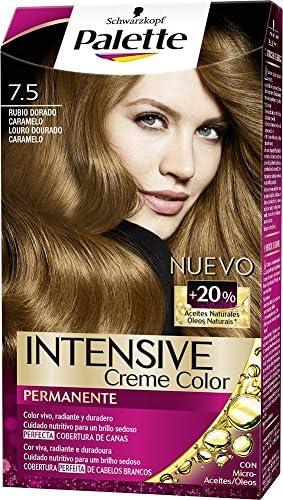 Palette Intense Color Cream Coloración Permanente, Tono 7.5 ...