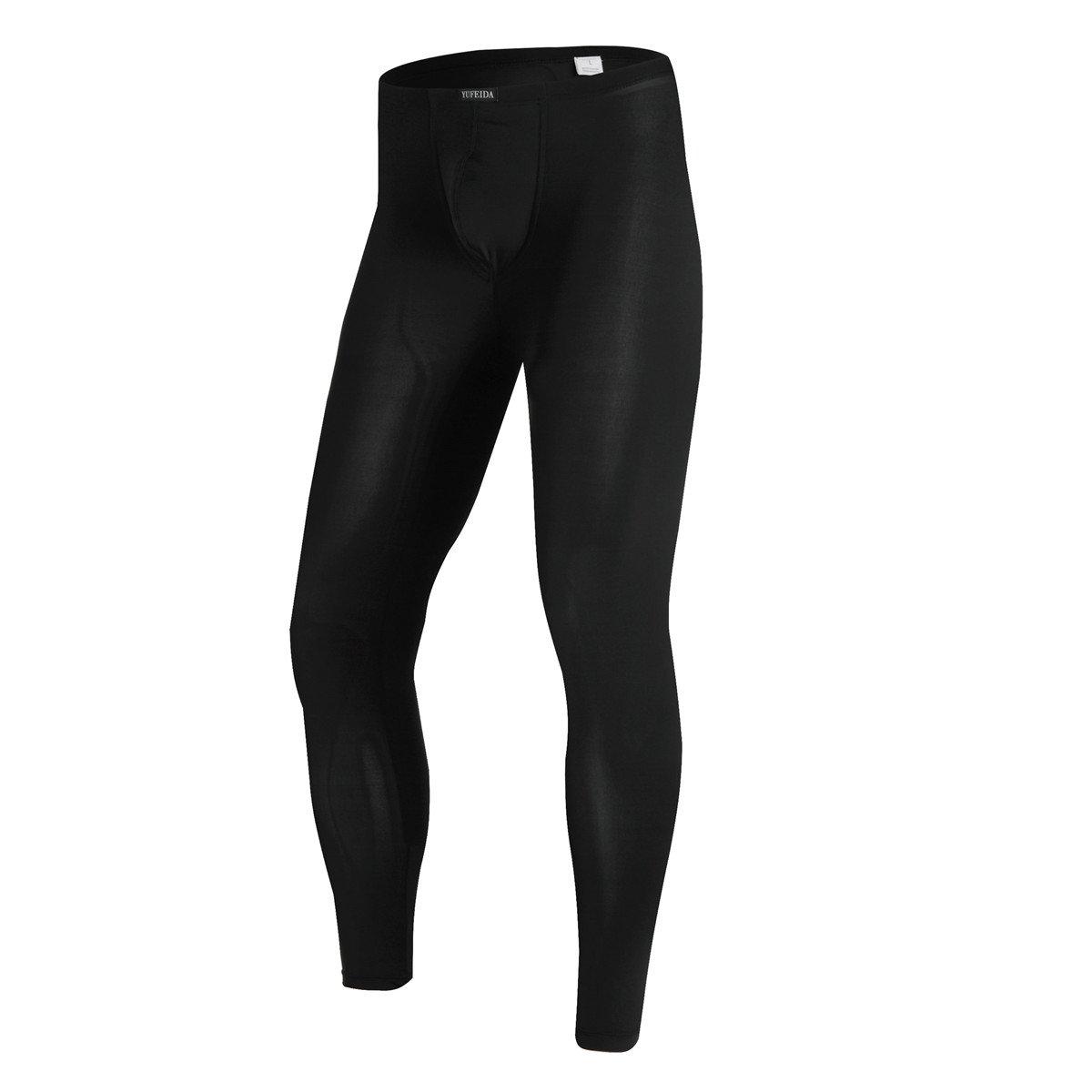 2e35fb99465cbc Online Cheap wholesale YUFEIDA Mens Sexy Underwear Bottoms Low Rise Leggings  Pants Mesh Long Trousers Pants Suppliers
