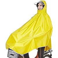 sorliva Regenponcho für Camping Fahrrad Regenmantel Regenschutz mit Kapuze, Poncho