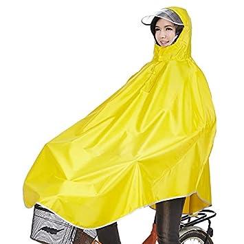 Für Fahrrad Regenponcho KapuzePoncho Mit Regenmantel Regenschutz Tourwin gelb Camping pqVSzMU
