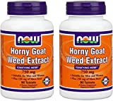 NOW Foods Horny Goat Weed 750 mg-90 Tablets (Pack fo 2) Review